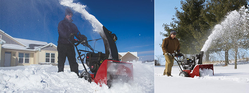 Snow Blowers & Throwers